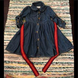 [Ralph Lauren] Jean Dress with belt, Size 24M